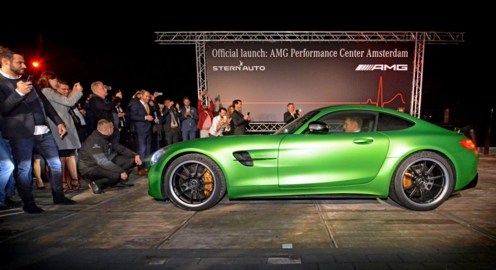 Lancering Stern Auto Mercedes AMG performance center
